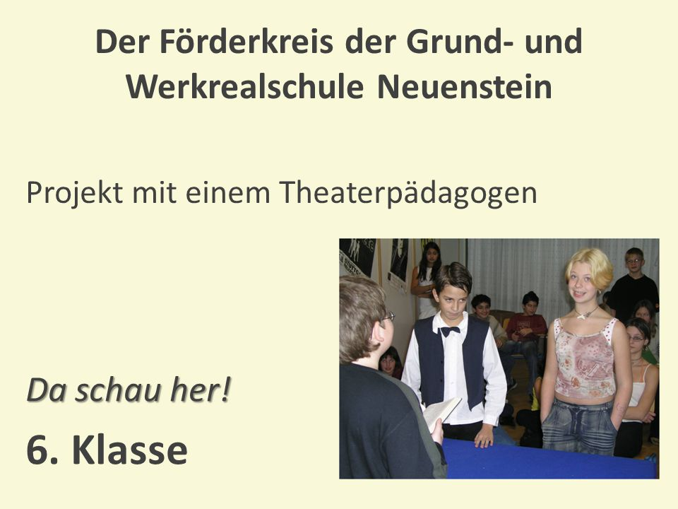 Der Förderkreis der Grund- und Werkrealschule Neuenstein Seminar im Restaurant mit gemeinsamen Essen Der gute Ton bei Tisch.