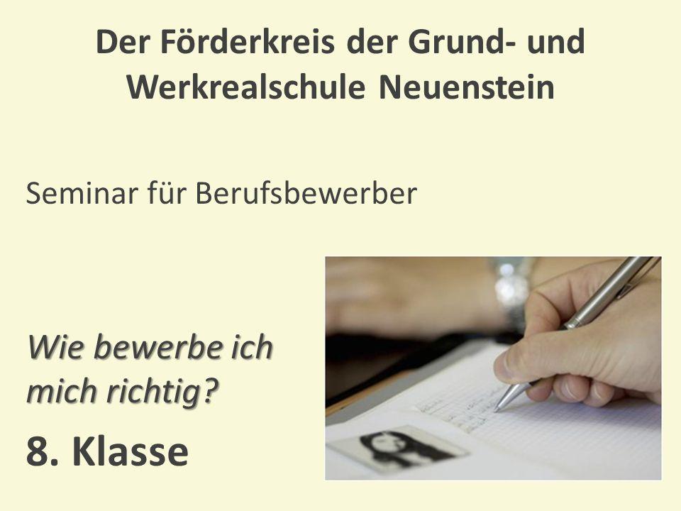Der Förderkreis der Grund- und Werkrealschule Neuenstein Prüfungsfrühstück und Abschlußfoto Ende gut, alles gut.