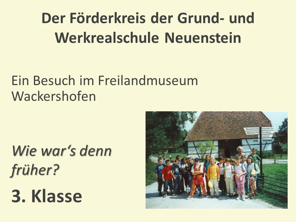 Der Förderkreis der Grund- und Werkrealschule Neuenstein Erste-Hilfe-Tag mit dem DRK Zu Hilfe.