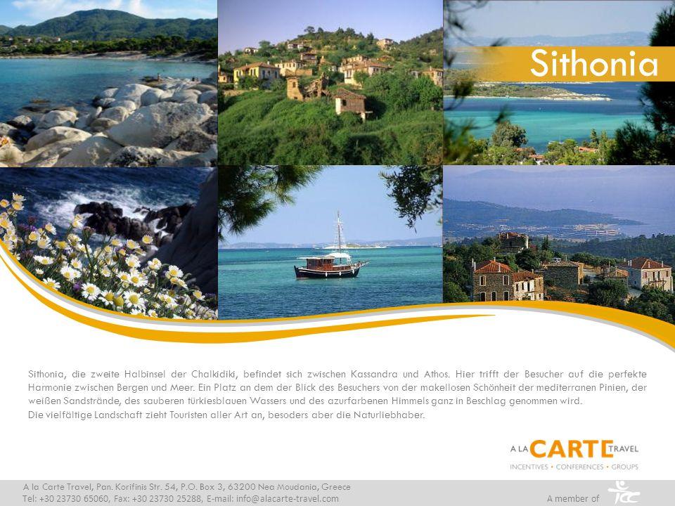 A la Carte Travel, Pan.Korifinis Str. 54, P.O.