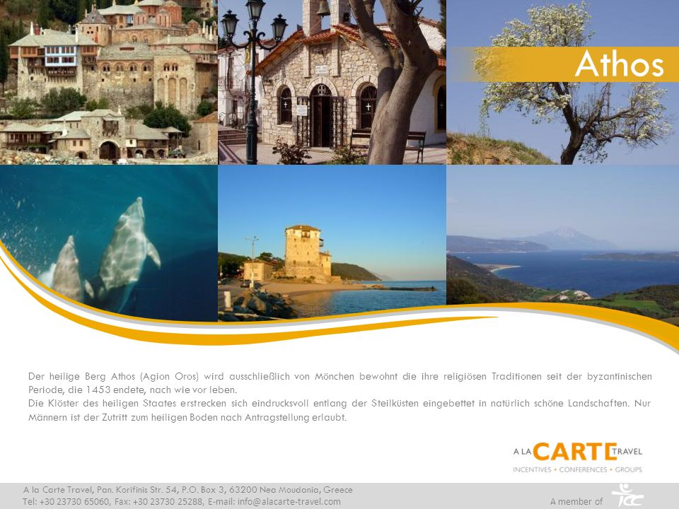 Klimatabelle A la Carte Travel, Pan.Korifinis Str.