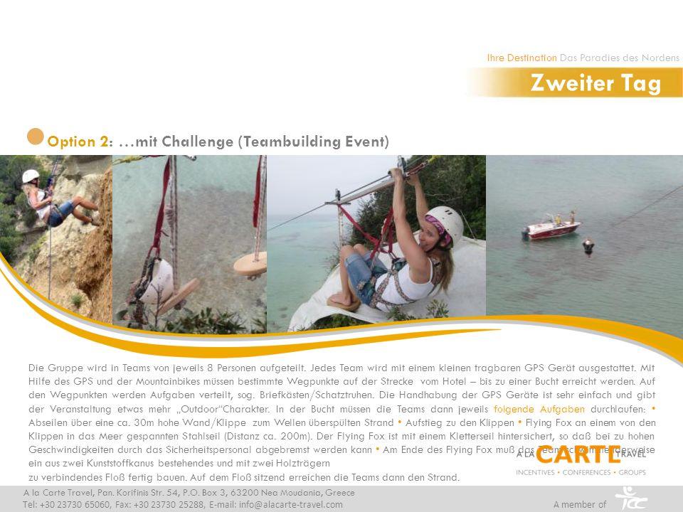 Option 3: Bootsausflug mit einem traditionellen Kaiki A la Carte Travel, Pan.