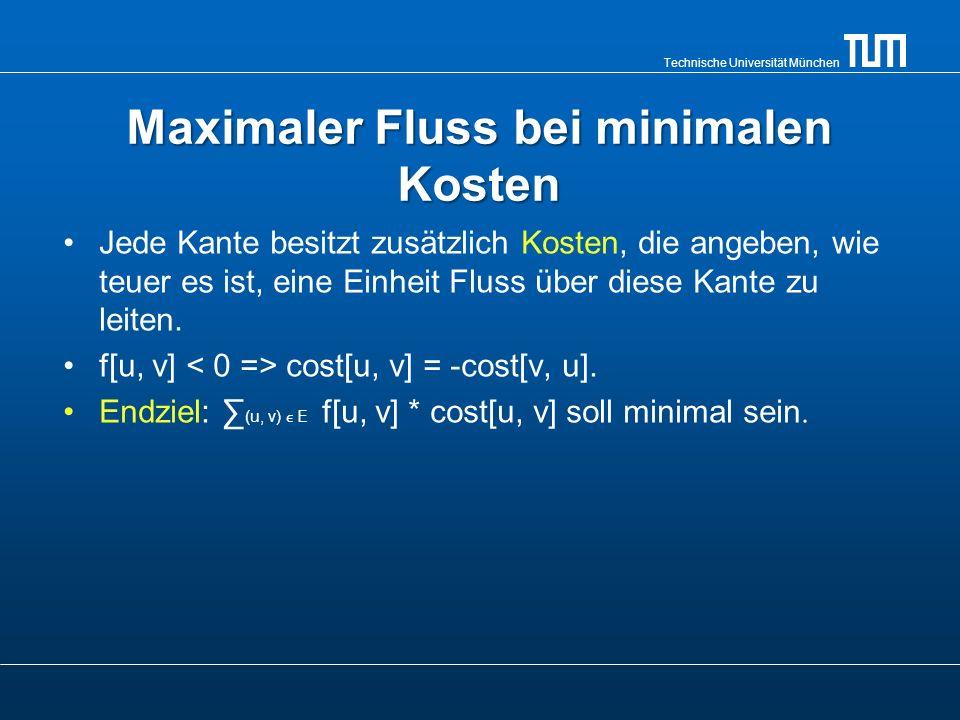 Technische Universität München Standardaufgabe Es gibt n Arbeiter und n Aufgaben, die gelöst werden müssen.