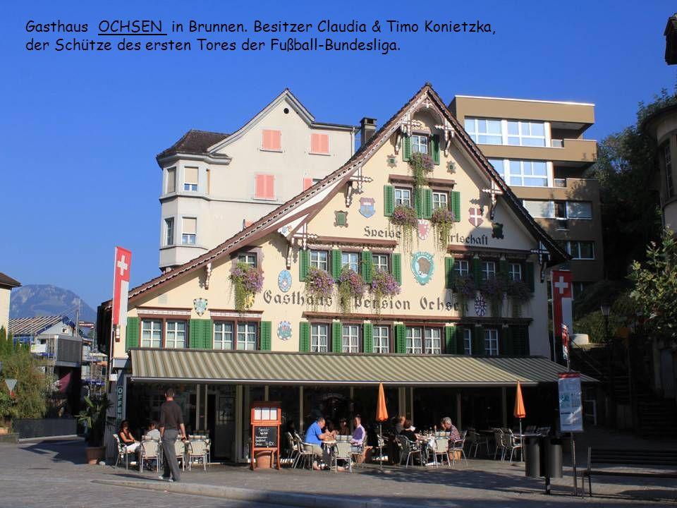 Gasthaus OCHSEN in Brunnen.
