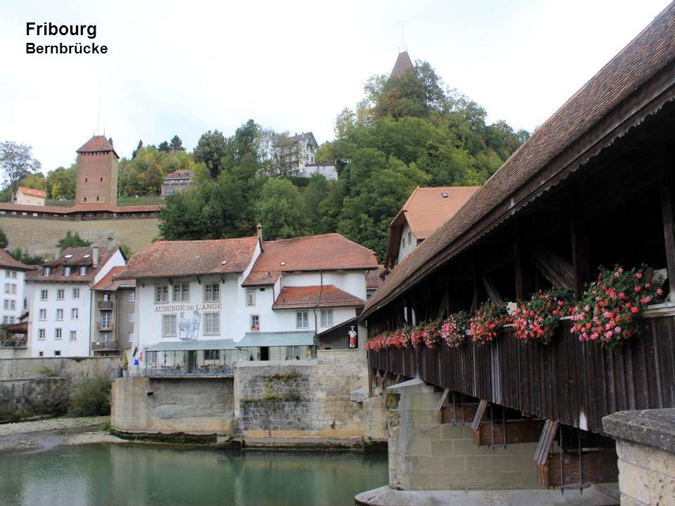 Fribourg Bernbrücke