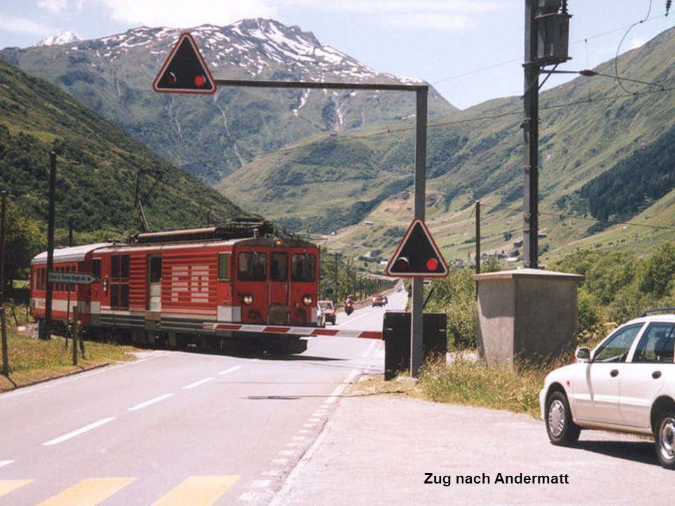 Zug nach Andermatt