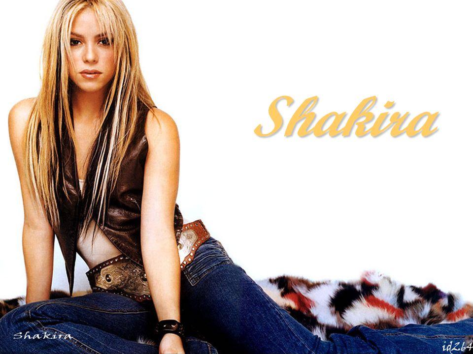 Shakira (hat am 2 Januar 1977 geboren, eigentlich Shakira Isabel Mebarak Ripoll) ist eine kolumbianische Pop- und Rock - Sängerin und Songwriterin.