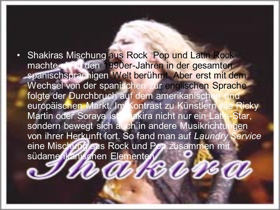 Ihr Idol ist der Nirvana-Sänger Kurt Cobain, der sich unter Drogeneinfluss das Leben nahm.