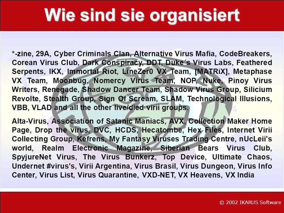 Do-It-Your Self Baussatz oder; Virenschreiben für Dummies DarkChasm s Word 97 Macro Virus Construction Kit Nach Betätigung der Schaltfläche OK erzeugt das MVCK automatisch ein Dokument das mit einem funktionsfähigen Makrovirus infiziert ist.