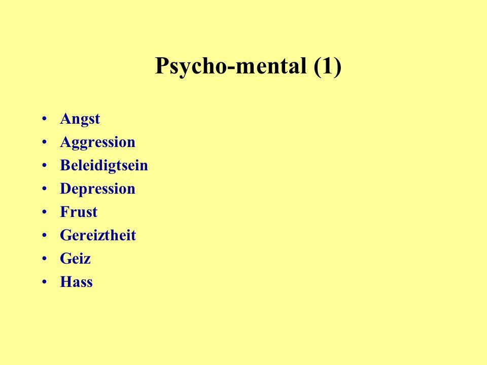 Misstrauen Minderwertigkeitsgefühl Missgunst Pessimismus Selbsthass Trauer Unfreiheit Unzufriedenheit Verlustängste Psycho-mental (2)