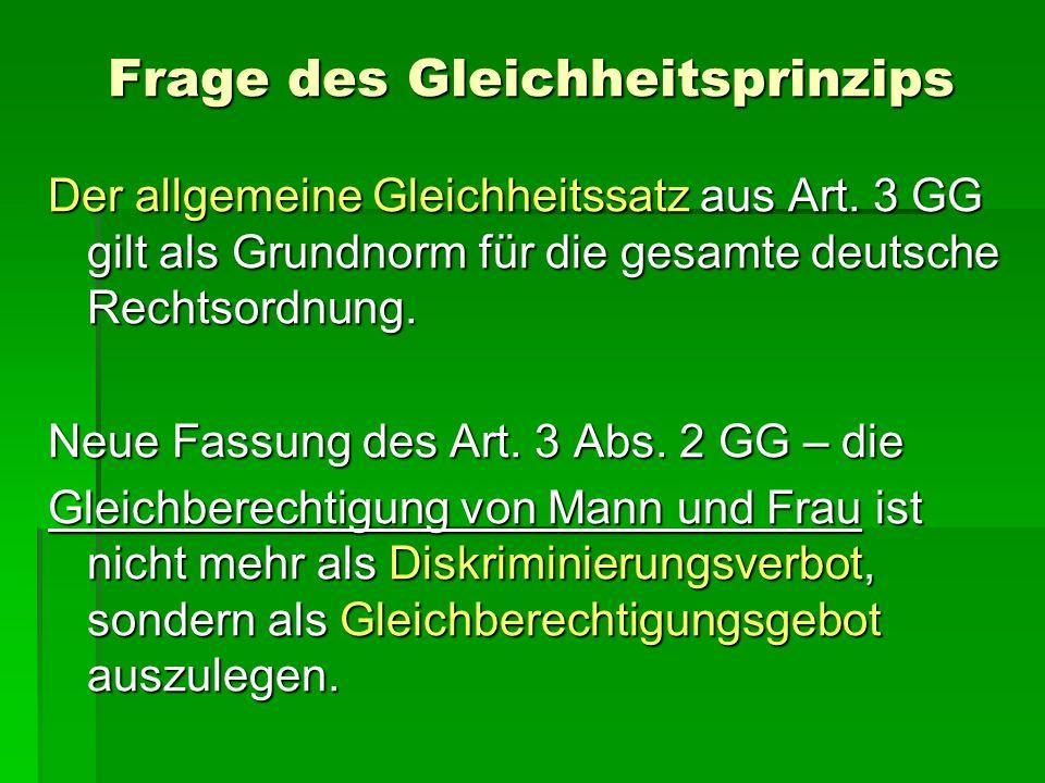 Die meisten Grundrechte = Menschenrechte ABER es bestehen die so genannten Deutschen- oder Bürgerrechte, die nur deutschen Staatsangehörigen zustehen Status der Ausländer.