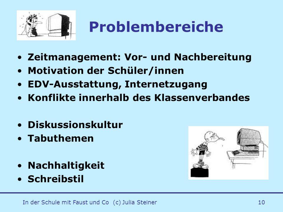 In der Schule mit Faust und Co (c) Julia Steiner11 /eLearning im DU?.
