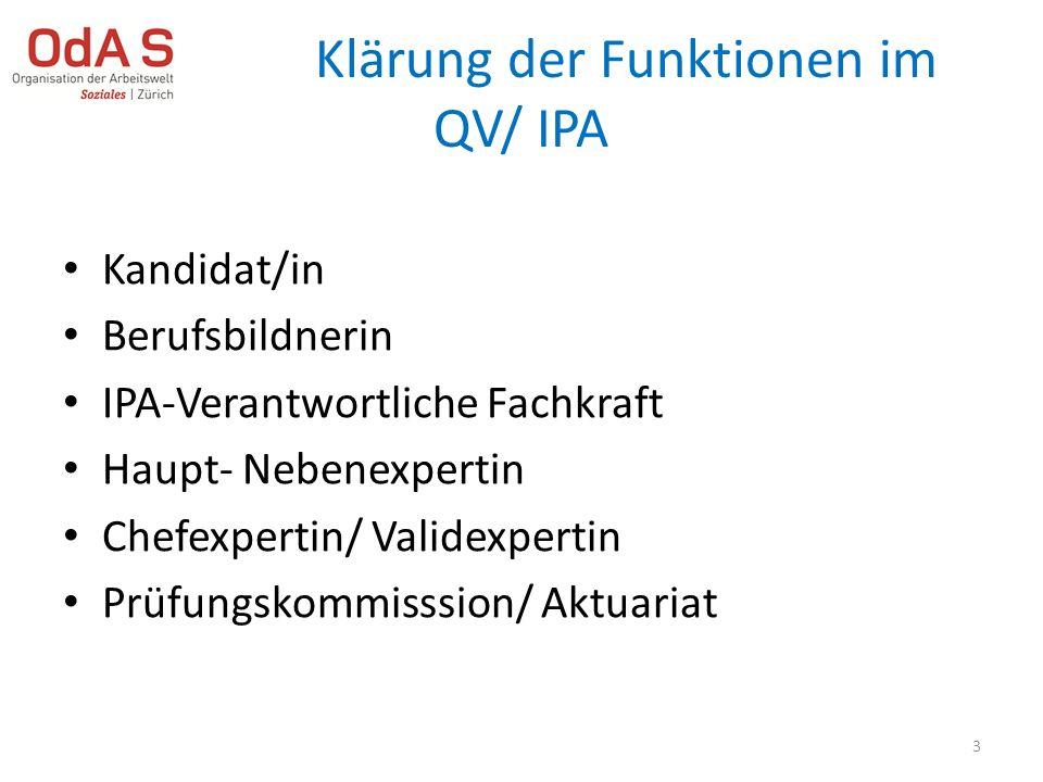 Individuelle Praktische Arbeit Der Kandidat/ die Kandidatin stellt ihre/ seine Fähigkeiten und Kompetenzen anhand einer IPA in vorgegebener Zeit unter Beweis.
