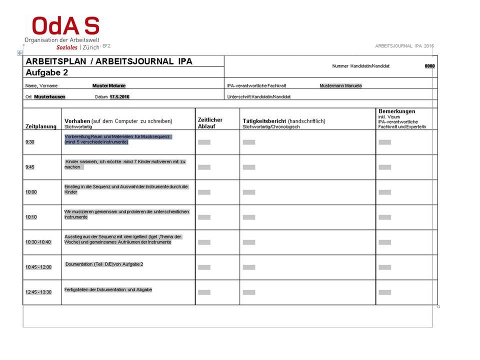 Bewertung IPA Sie bewerten die IPA und Experten überprüfen Bewertung auf Plausibilität Jede Aufgabe wird gemäss Kriterien bewertet Begründung, wie sie zu der Beurteilung gekommen sind.