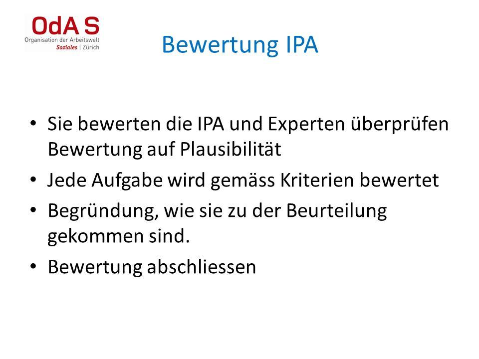 Bewertung IPA 39