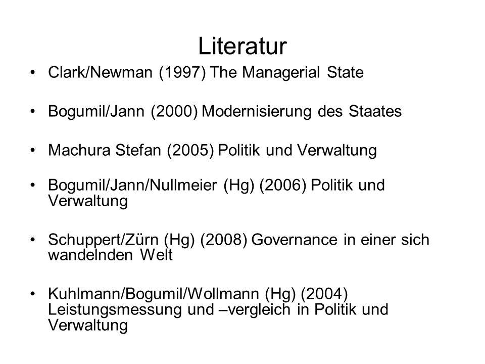 Literatur Öhlinger, Theo (1994) Öffentliche Verwaltung.