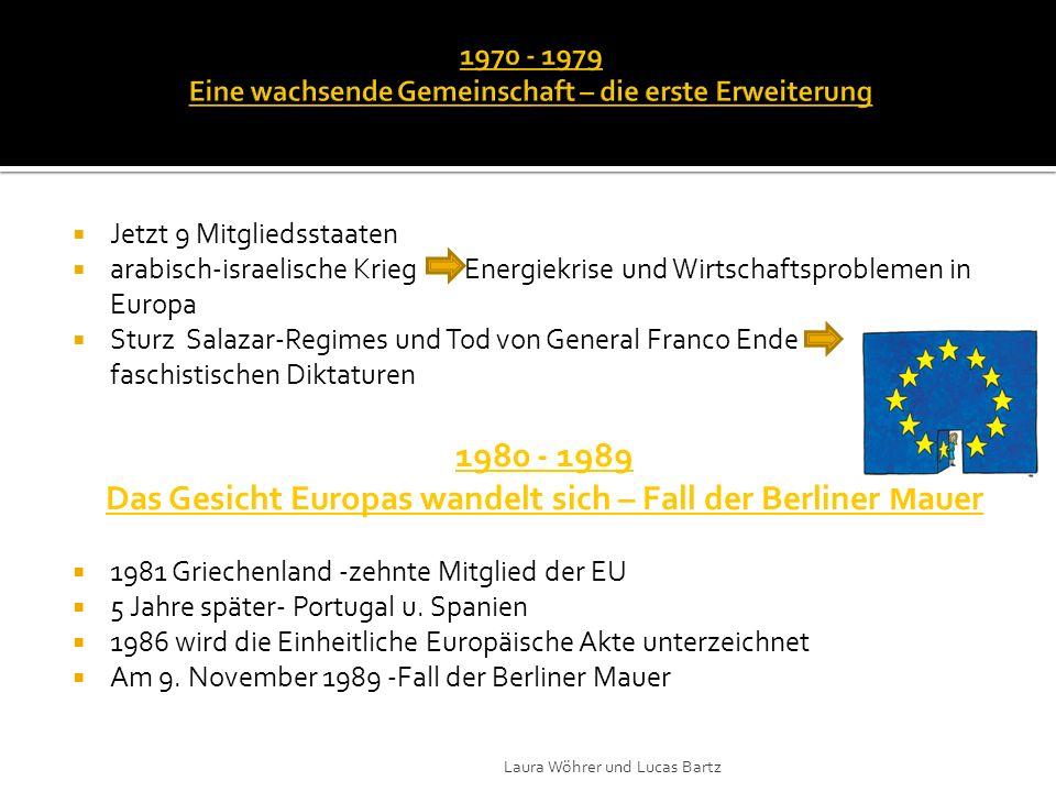 1992 unterschrieben die 12 Länder den Vertrag von Maastricht über die Europäische Union gemeinsame Union 1.