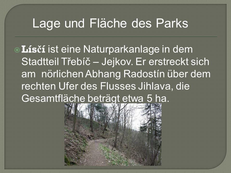 Panorama des Parks