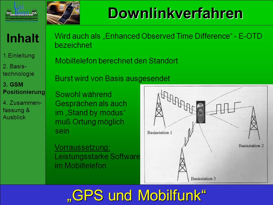 Uplinkverfahren Inhalt 1.Einleitung 2.Basis- technologie 3.