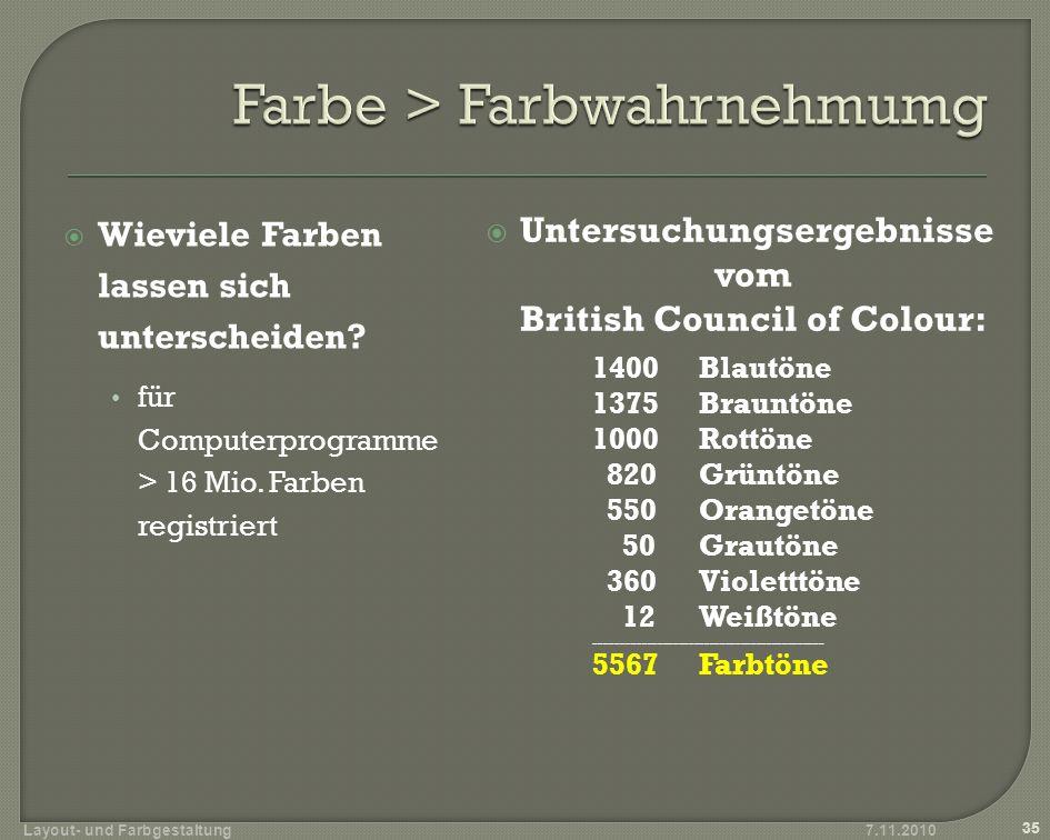 Farben können im Computerbereich durch verschiedene Farbmodelle beschrieben werden.