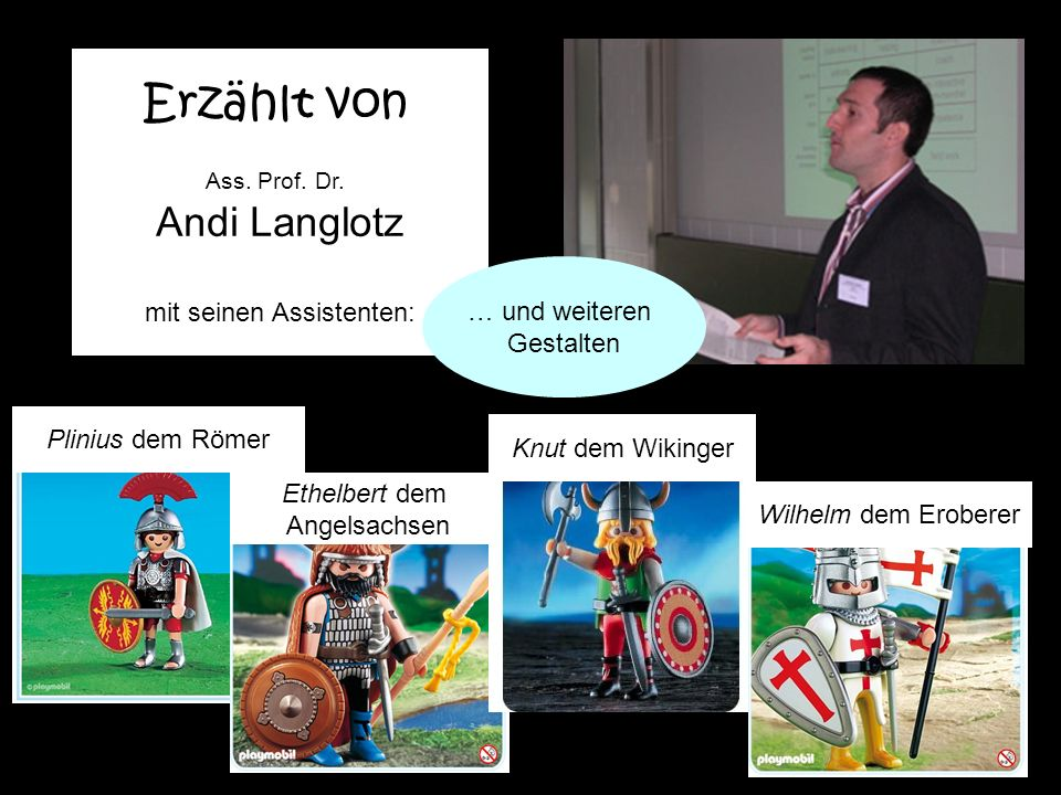 Englisches Seminar Department of English Erzählt von Ass.