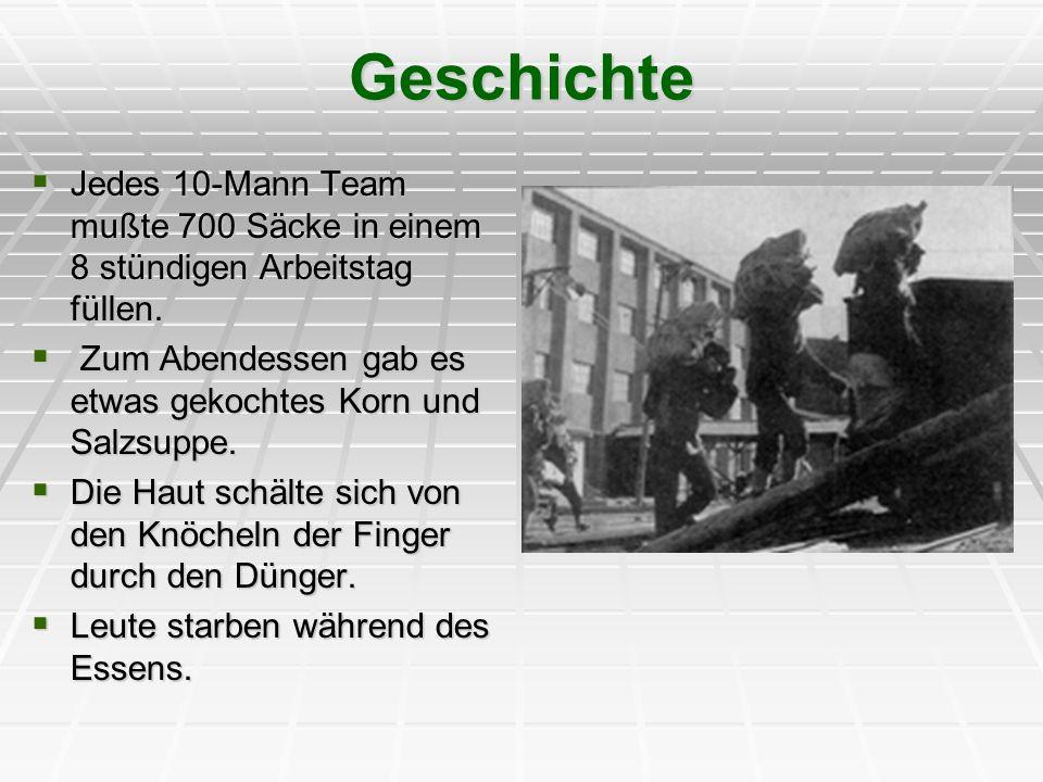 Geschichte Am 14.Okt. 1950, wurden sie während eines Bombardements der U.S.