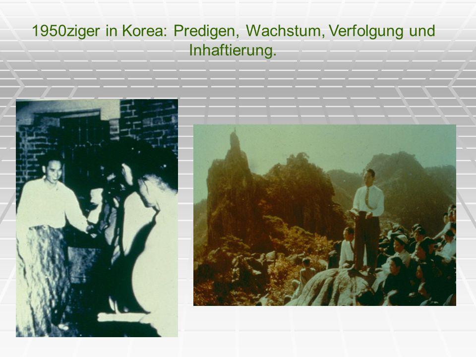 1960 – Die Vermählung mit Sun Myung Moon und Hak Ja Han