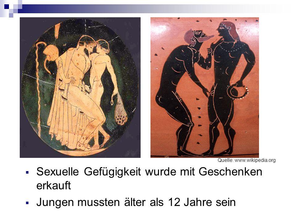 Antike auch im Alten Rom wurden Kinder missbraucht frühe Kastration der Jungen für die Arbeit in Bordellen Frauen waren ebenso am sexuellen Missbrauch beteiligt (Darstellung des Petronius) Vergewaltigung galt in der Rechtssprechung als Diebstahldelikt