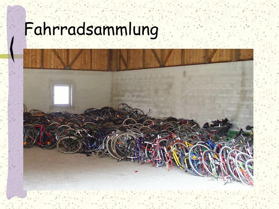 Fahrradzerlegung