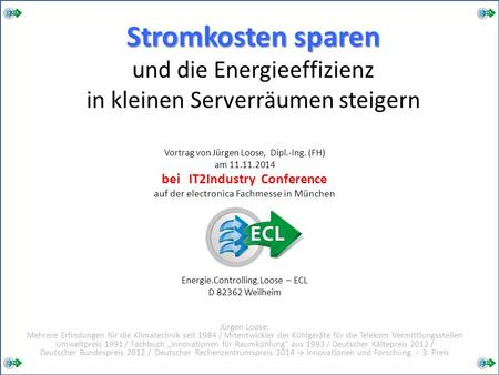 bei IT2Industry Conference