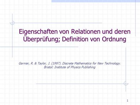 Karl-Franzens Universität Graz, Inst. f. Psychologie, Abt. f