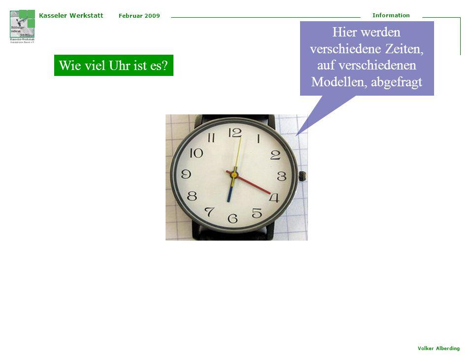 Kasseler Werkstatt Februar 2009 Information Volker Alberding für die Fortbildung Vergleichen habe ich, unter anderem, ein Memory aus VW-Aufklebern hergestellt, auf diese Weise werden die Darstellungen der VW-Aufkleber spielerisch den Teilnehmern vermittelt