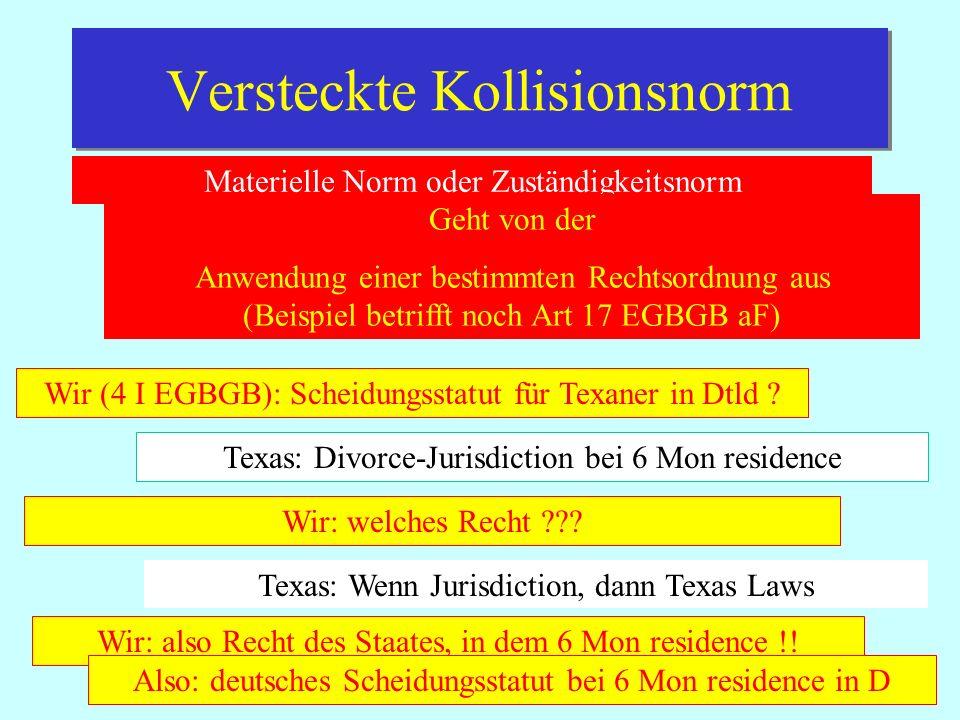 IPR Thomas Rauscher Scheidungsstatut ab 21.6.2012 VO EG 1259/2010 Qualifikation:Ehescheidung und – trennung (Art 1 I) Eheaufhebung Rechtswahl Art 5 - Gemeinsamer gew Aufenthalt bei Wahl - Letzter gem.