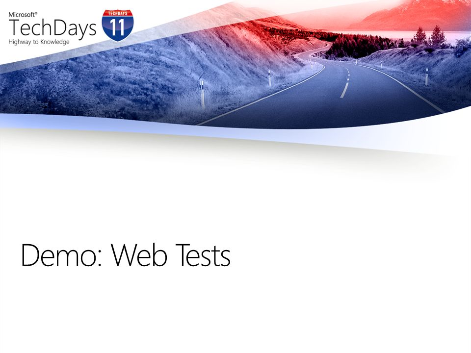 Lasttest Architektur Web Server (AUT) Load Test database server Optional: Microsoft Test Manager 2010 Test Controler Load Agents Visual Studio