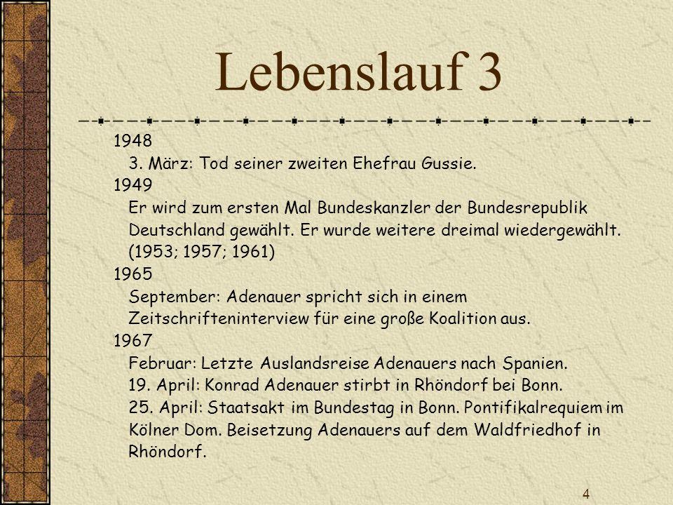 5 Rolle beim Grundgesetz Am 23.05.1949 unterzeichnete er als Präsident des Parlamentarischen Rates das Grundgesetz der Bundesrepublik Deutschland 01.09.1948: Wahl zum Präsidenten des Parlamentarischen Rates in Bonn