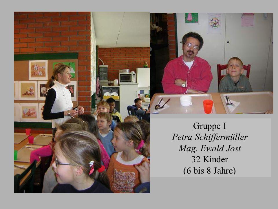 Gruppe II Herta Strahlhofer Mag. Karl Hofbauer 35 Kinder (7 bis 9 Jahre)