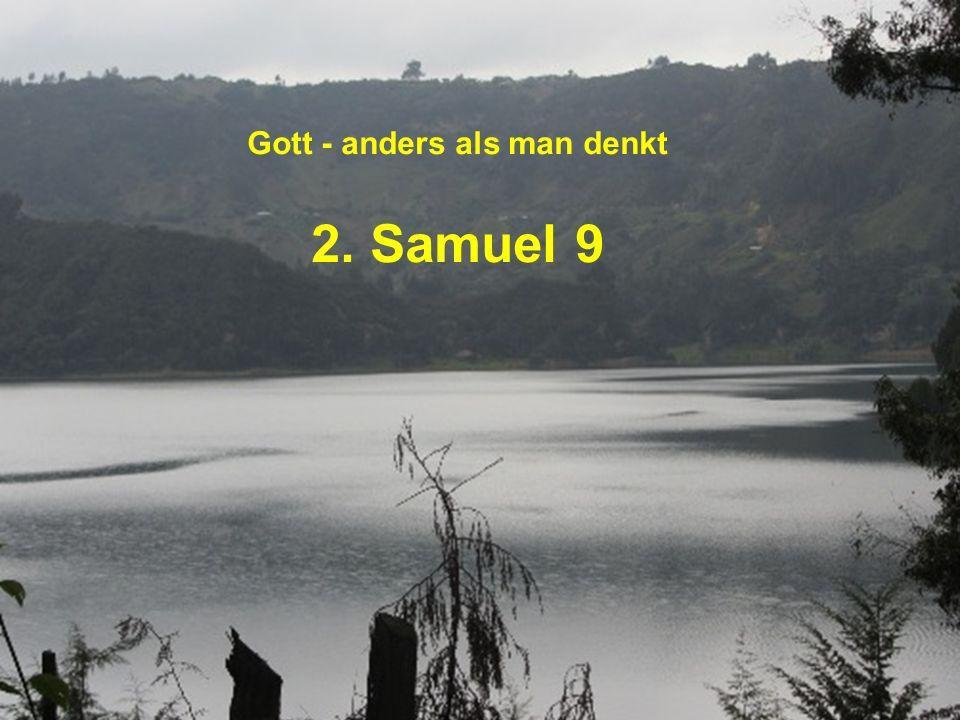 2.Samuel 9,1: David begann nachzuforschen, ob noch jemand von Sauls Familie lebte.