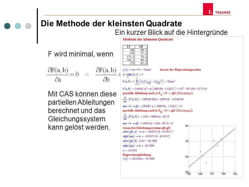 Wir berechnen zunächst die Streuung der Messwerte y i um den Mittelwert M der Messwerte.
