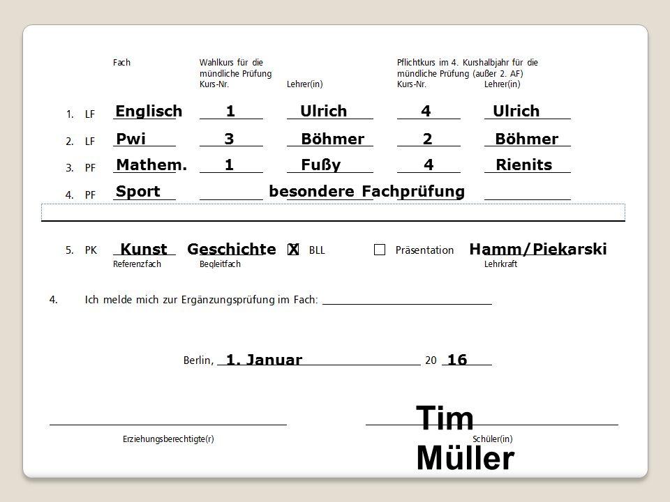 Gesamtnote im Abitur 1.Punkte aus 8 Leistungskursen 2.
