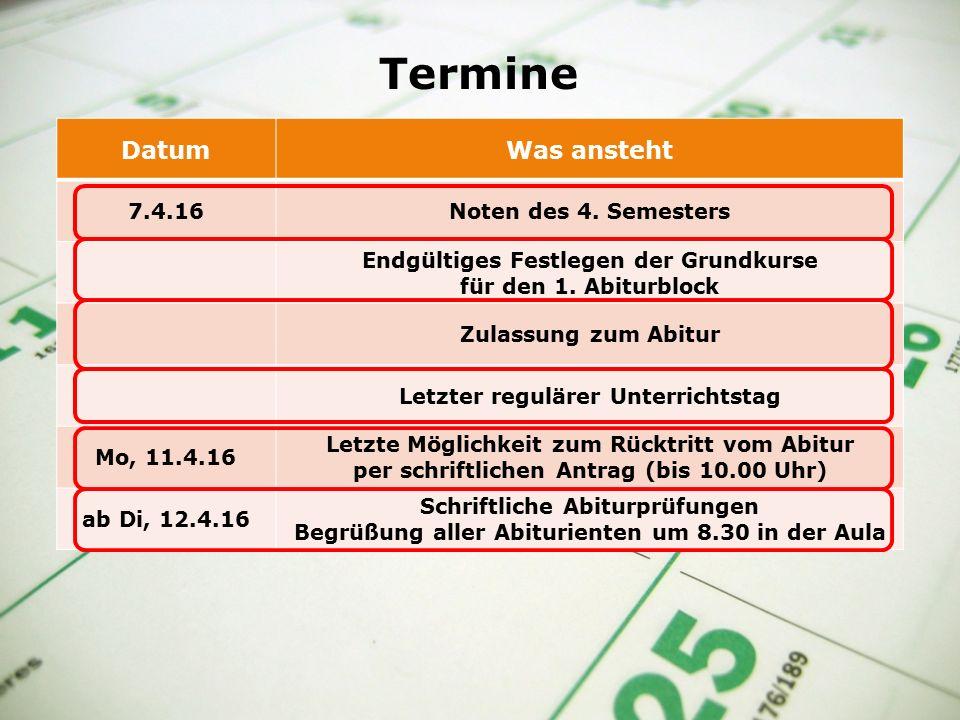 Dieses Formular muss spätestens am 15.1.16 ausgefüllt abgegeben werden.