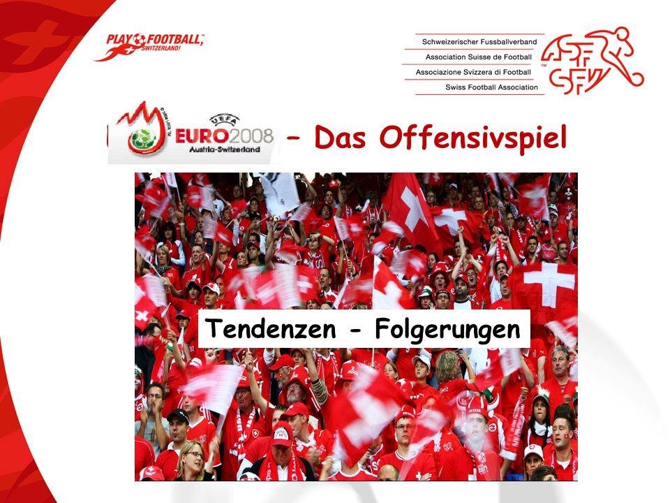 2 EURO 2008- 77 Tore nur 15 Tore auf stehende Bälle (19%) 2 ASF/SFV / Cours dexperts 2008 4 Tore aus 319 Cornern !!.