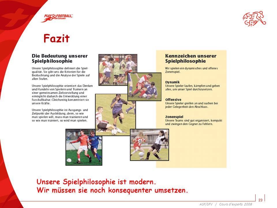 24 Welches sind die hauptsächlichsten offensiven Schwachstellen des Schweizer Fussballs.