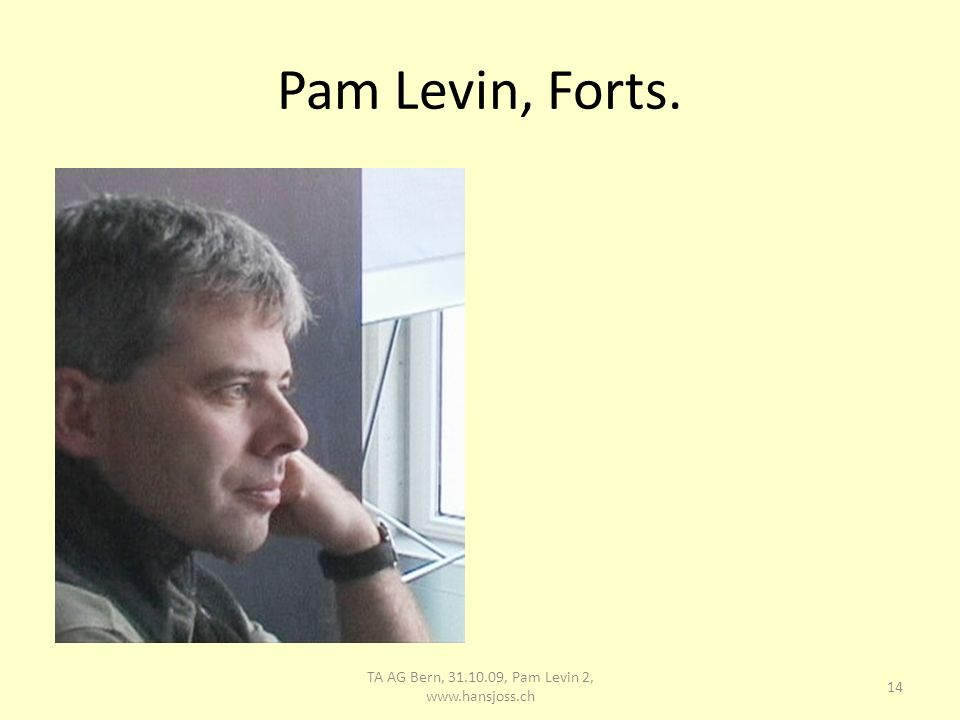 Pam Levin Forts.