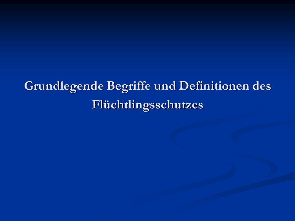 """Teil 1 Grundlegende Definitionen und Begriffe des Flüchtlingsschutzes und des subsidiären Schutzes Grundlegende Definitionen und Begriffe des Flüchtlingsschutzes und des subsidiären Schutzes Das Konzept von """"Non refoulement & die Definition von Verfolgung Das Konzept von """"Non refoulement & die Definition von Verfolgung Übersicht über die Aufenthaltstitel in Deutschland Übersicht über die Aufenthaltstitel in Deutschland Tägliche Probleme von Asylbewerbern während des Asylverfahrens und mit einer Duldung Tägliche Probleme von Asylbewerbern während des Asylverfahrens und mit einer Duldung """"Irregulär / """"Illegal / """"Sans papiers - Flüchtlinge ohne Papiere """"Irregulär / """"Illegal / """"Sans papiers - Flüchtlinge ohne Papiere"""