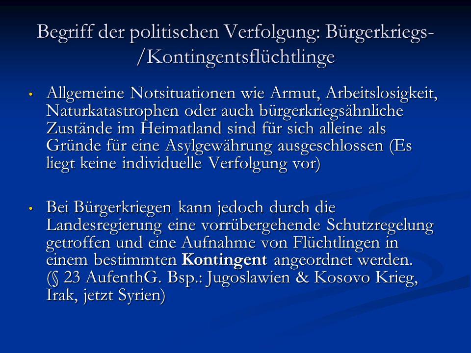 """Subsidiärer Schutz EU Qualifikationsrichtlinie 2011 umgesetzt 2014 Subsidiärer Schutz Art 15 QRL, § 3, 4 AsylVFG, § 3 EMRK Art 15 QRL, § 3, 4 AsylVFG, § 3 EMRK """" Ein Ausländer ist subsidiär Schutzberechtigter, wenn er stichhaltige Gründe für die Annahme vorgebracht hat, dass ihm in seinem Herkunftsland ein ernsthafter Schaden droht."""