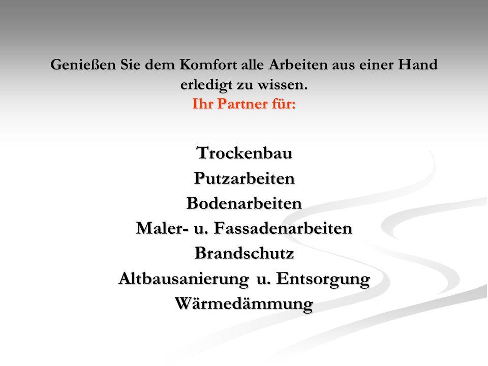 Unser Team: