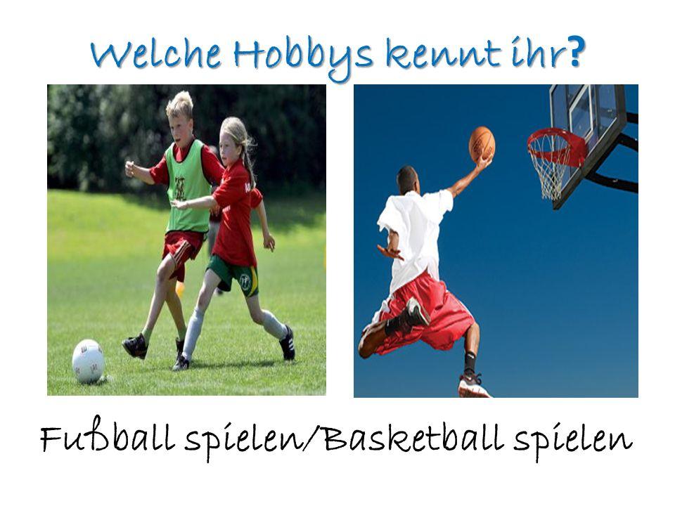 Welche Hobbys kennt ihr ? Volleyball spielen