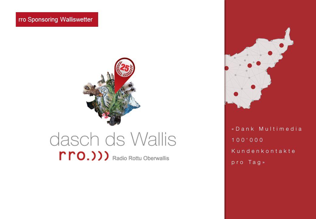 rro Sponsoring Verke nachhr rro Sponsoring Walliswetter