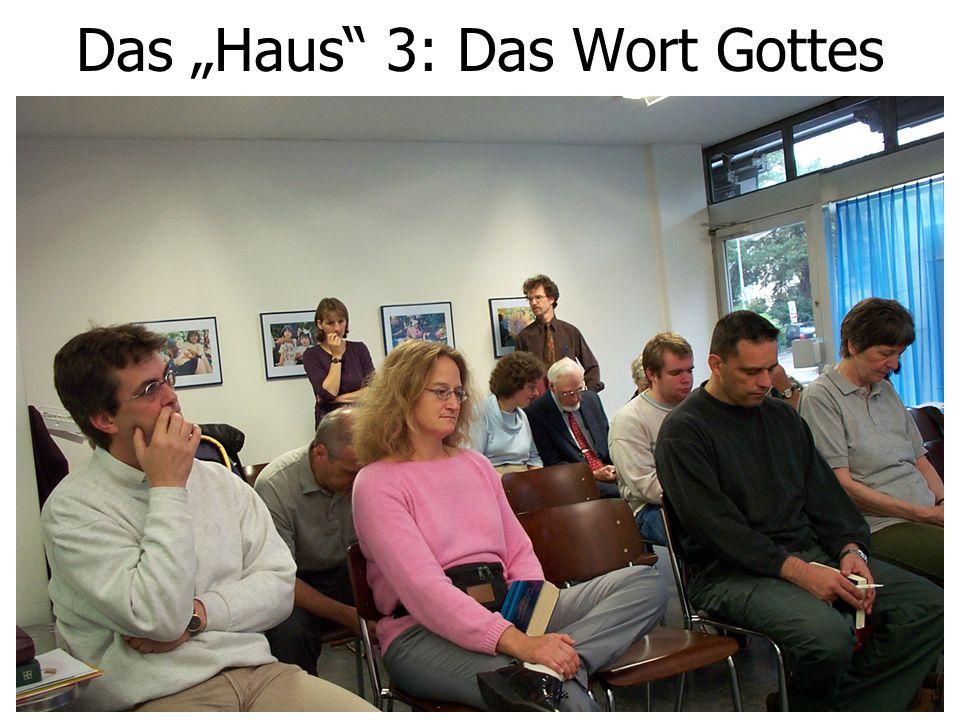 """Das """"Haus 4: Lobpreisentwicklung"""