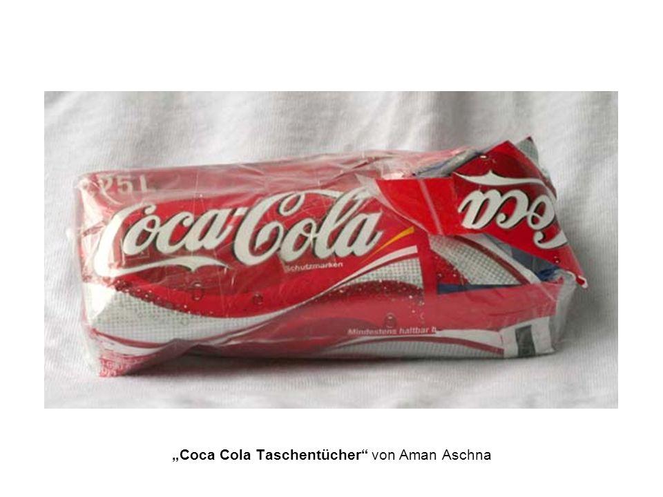 """""""Coca Cola Taschentücher von Aman Aschna"""